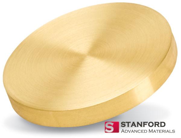 Gold (Au) Sputtering Target