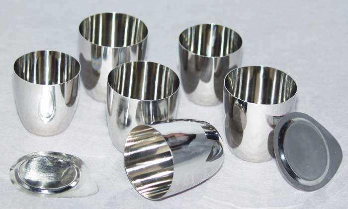 niobium zirconium alloy crucibles