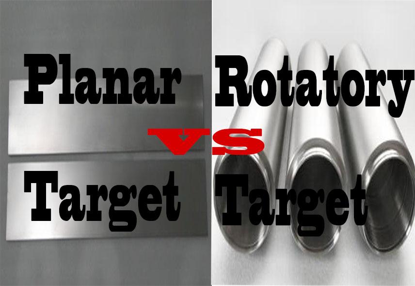planar vs. rotatory target