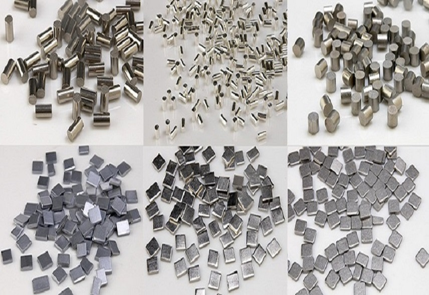 Various Types of Evaporation Pellets Materials