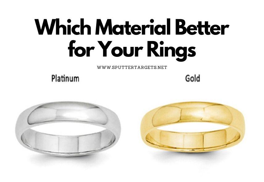 Platinum vs. Gold Ring