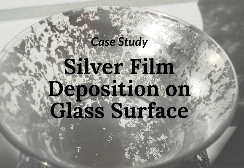 Silver Film Deposition on Glass Surface