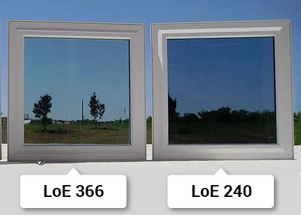 low-emmision glass pvd coating