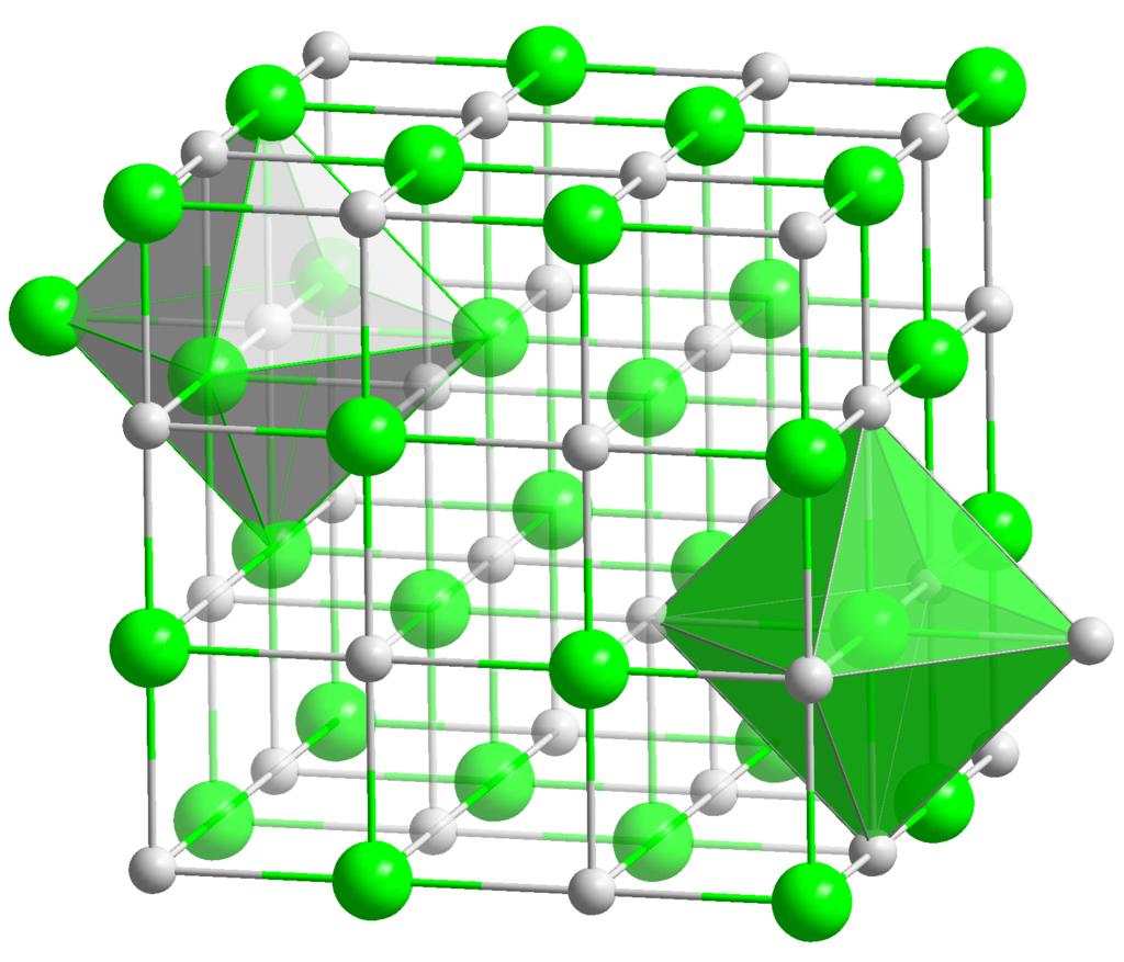 Strontium Oxide Structure
