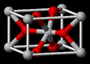 Iridium Oxide Sputtering Target Structure