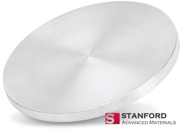 Platinum Silver (PtAg) Sputtering Target